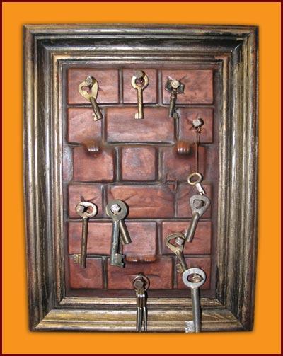 Ключницы для ключей своими руками